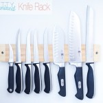 Magnetic Knife Rack Kitchen Organizer