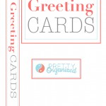 Binder Cover for DIY Greeting Card Organizer