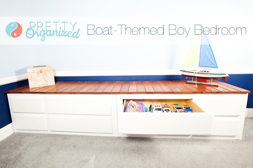 Boy Bedroom Ideas, Kids Room Decorating Ideas, DIY furniture, toy storage