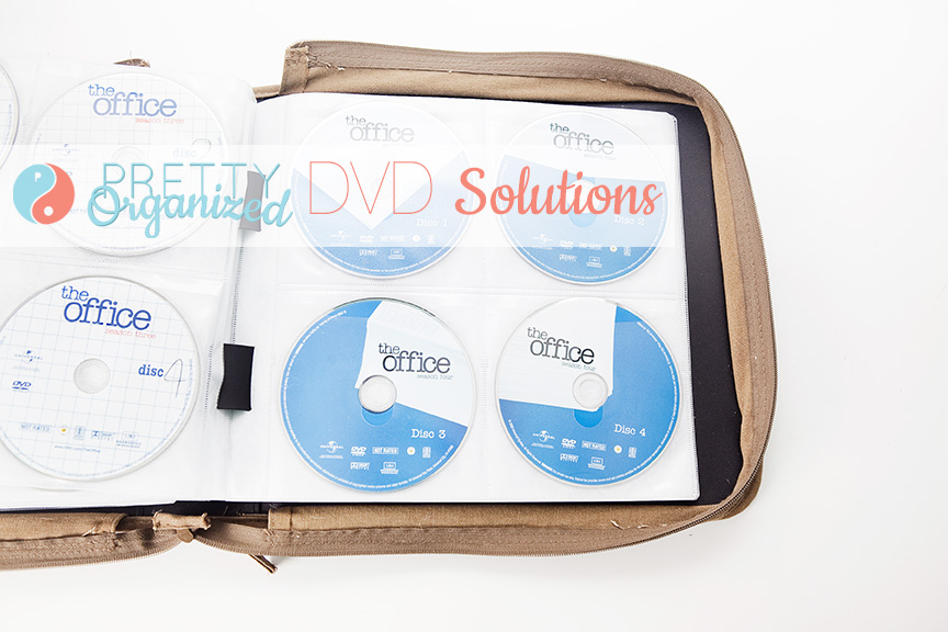 Storage-Ideas-For-Small-Spaces, DVD Binder, Creative DVD Storage