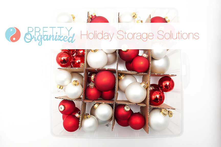 Holiday Storage Solutions: Christmas Ornament Storage Boxes
