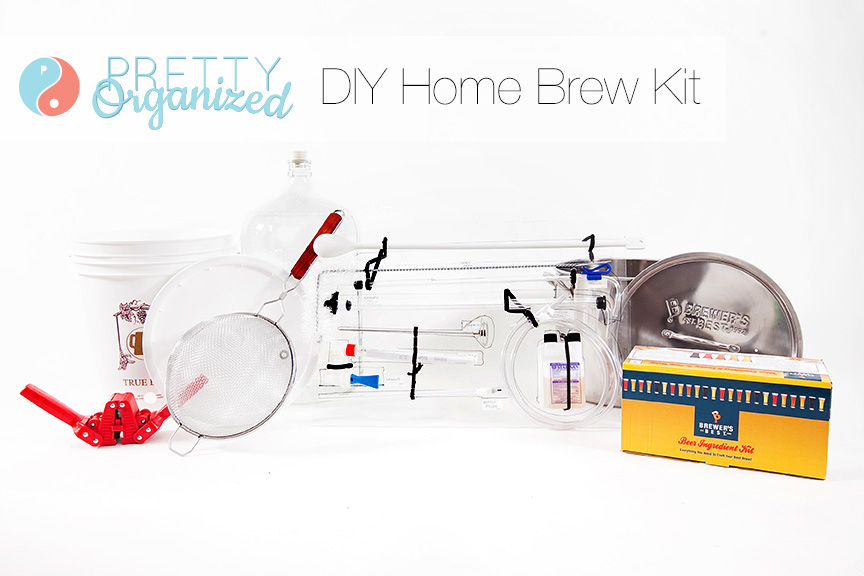 Home-Brewing, Organizing an at home brewing kit