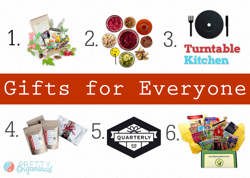 gift guide, monthly food and gift subscriptions for everyone