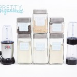 Free Printable Labels, Protein Shake Station