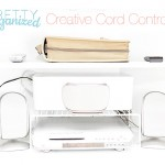 How-to-be-organized, cable manangement, creative cord control