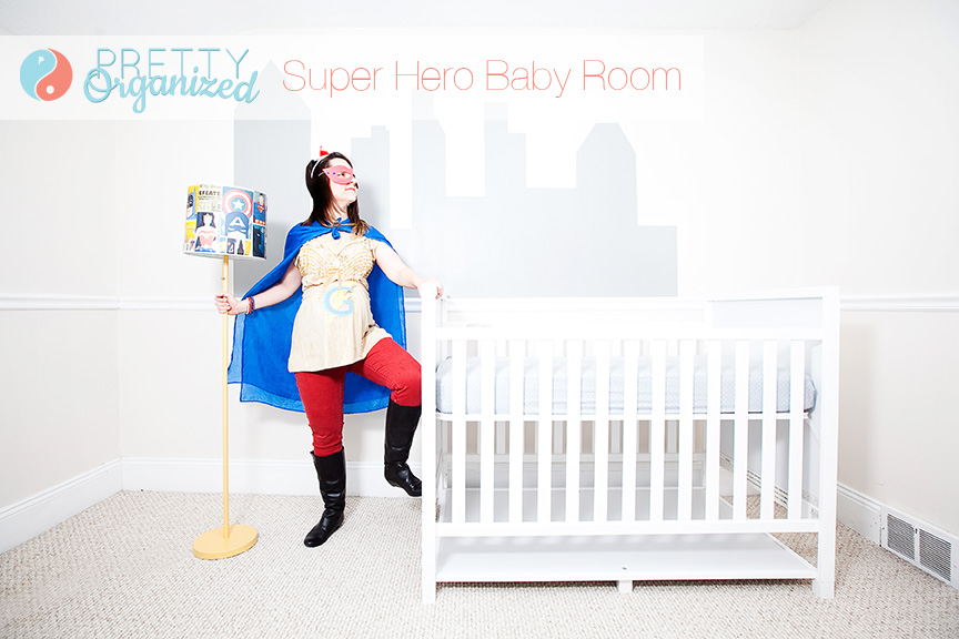 Super-Hero-Bedroom, super hero maternity