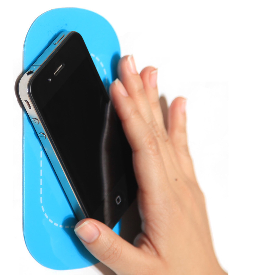 cell-phone-holder, removeable storage