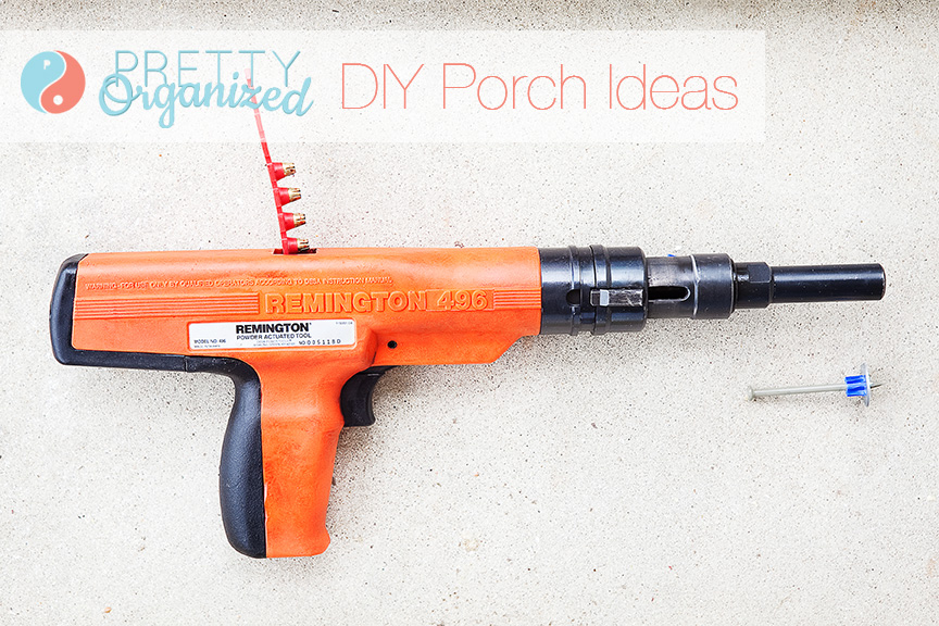 diy-porch-front, nail gun