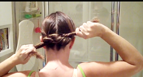 Easy Hairstyle, Wet Hair
