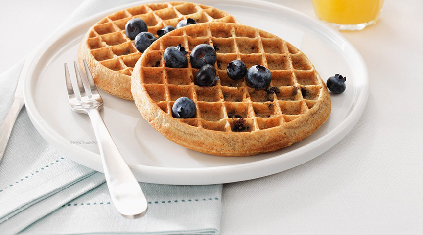 kashi-blueberry-waffles, breakfast