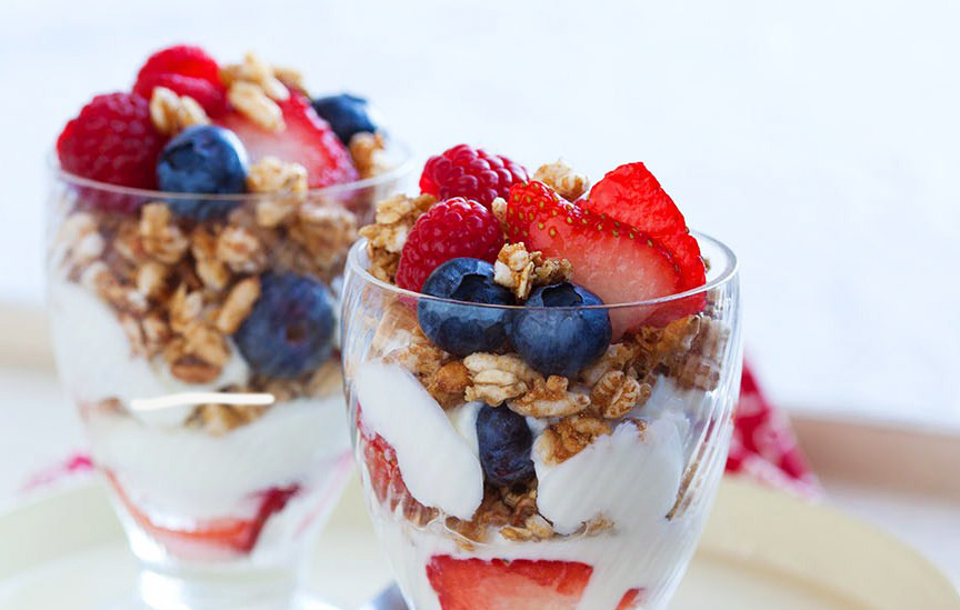 breakfast ideas, kashi parfait
