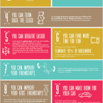 reasons to declutter, clutter infographic