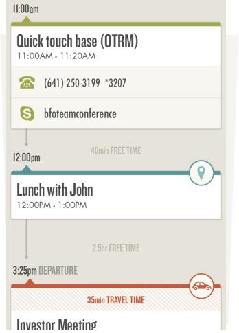 scheduling app, donna