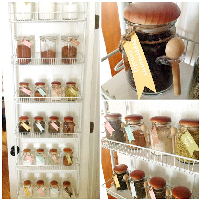 Pretty Pantry Storage Containers & Labels