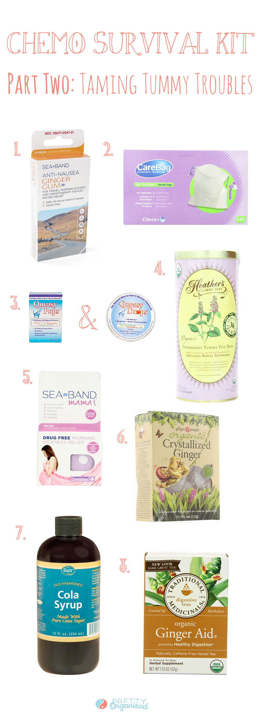 Tips for creating a chemo comfort kit