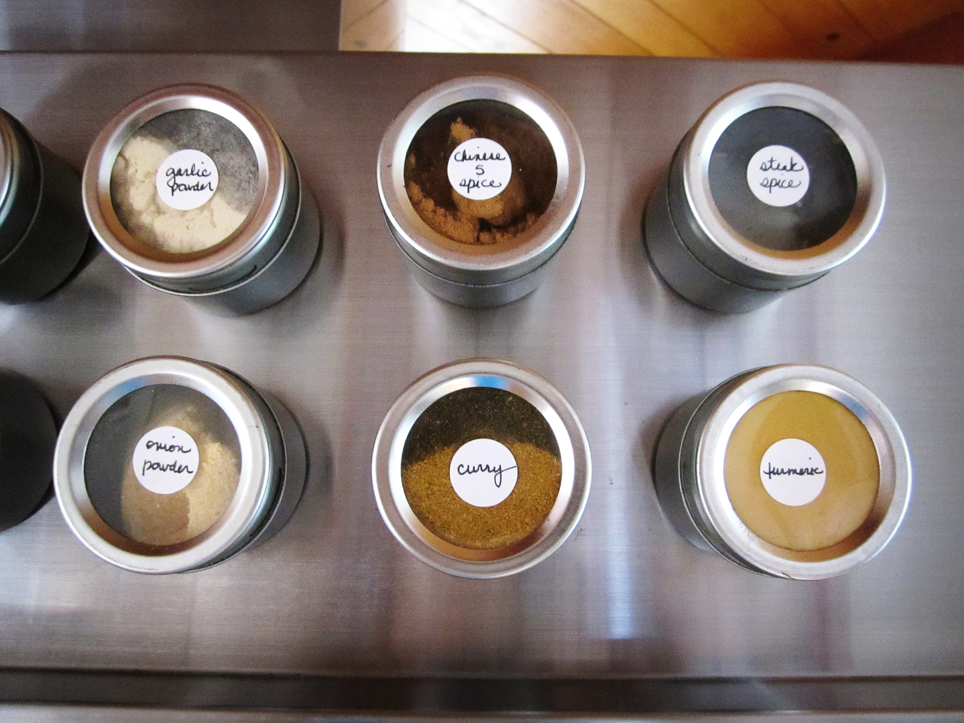 smart way to organize spices in your kitchen!