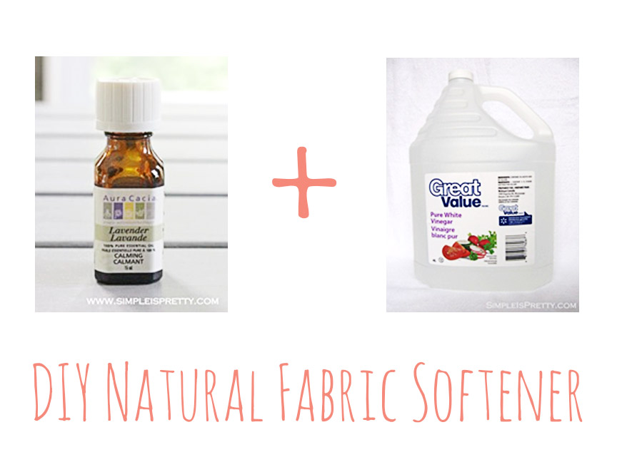 Easy DIY natural fabric softener!