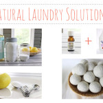 Natural laundry solutions & shortcuts!