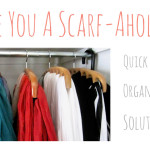 Storage solutions for scarf-aholics!