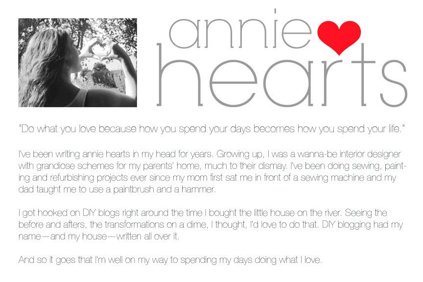 Annie Hearts blog