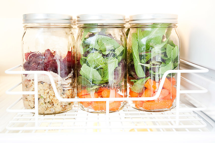Awesome, easy tips for a pretty, organized fridge!